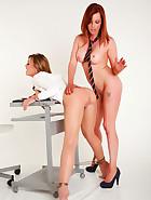 Sexy teacher tied, pic #6