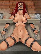 Redhead explores BDSM sex, pic #3