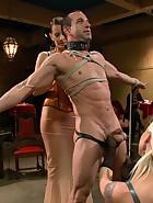 PUBLIC slave humiliation, pic #1