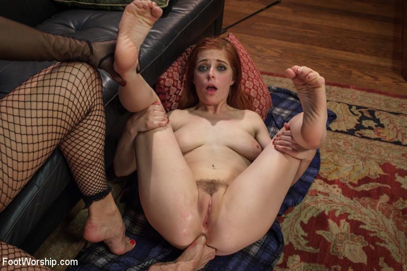 Lesbian foot bdsm