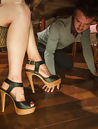 Thanksgiving FEMDOM Foot Affair, pic #2