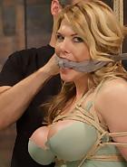 Huge Tit Blonde Bondage Slut Destroyed, pic #2