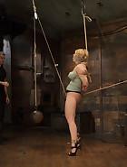 Huge Tit Blonde Bondage Slut Destroyed, pic #4