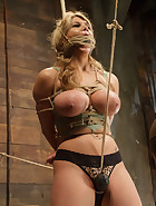 Huge Tit Blonde Bondage Slut Destroyed, pic #6