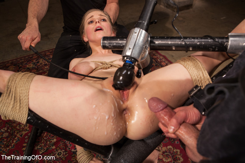 Sadistic mistress cleaning up her slave 1