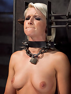 Training Anikka Albrite, Day 1, pic #3