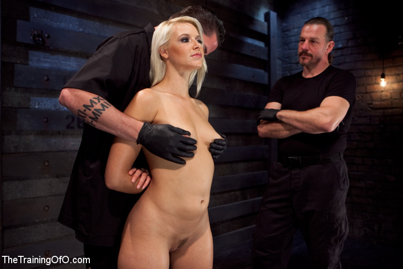 Husbands spank wife