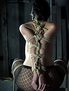 Elise Tied Up High, pic #9