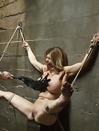 Bit Tit MILF in Extreme Bondage, pic #8
