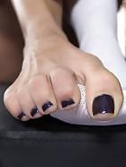 Physical Trainer Worships Sweaty MILF Feet!, pic #13