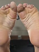 Physical Trainer Worships Sweaty MILF Feet!, pic #3