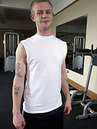 Physical Trainer Worships Sweaty MILF Feet!, pic #4