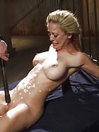 Hot Blonde in Brutal Predicament Bondage, pic #13