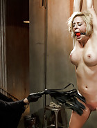 Hot Blonde in Brutal Predicament Bondage, pic #5
