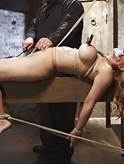 Big Tit Blonde Inescapable Orgasms, pic #9