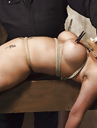 Big Tit Blonde Inescapable Orgasms, pic #10