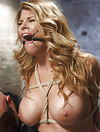 Big Tit Blonde Inescapable Orgasms, pic #6