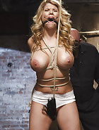 Big Tit Blonde Inescapable Orgasms, pic #7