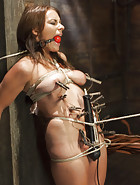 All Natural Babe in Heavy Bondage, pic #2