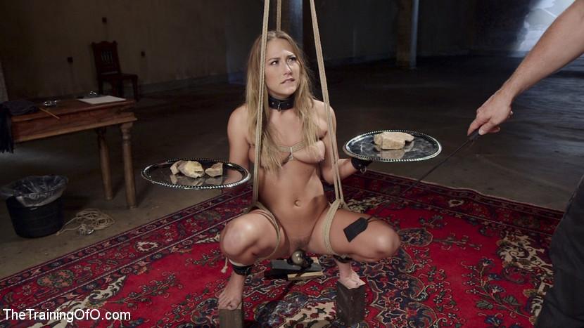 Bdsm Couple Slave Threesome