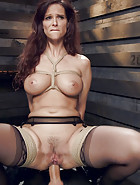 Anal MILF Pussy Punishment and Double Anal, pic #11