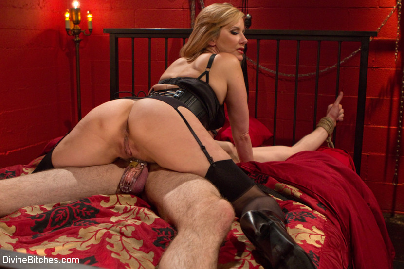 Femdom with cock ring