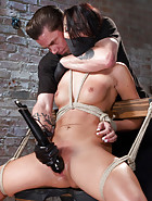 Sabrina Used and Abused in Hardcore Bondage, pic #3