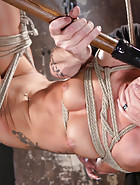 Sabrina Used and Abused in Hardcore Bondage, pic #8