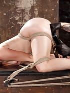 Sexy Spanish Slut Bound with Pain, pic #13