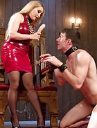 Aiden Starr Corrects A Very Bad Dog, pic #6